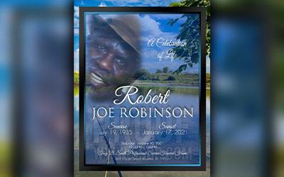 Robert Joe Robinson 1935 – 2021