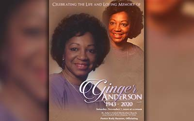 Ginger Anderson 1943-2020