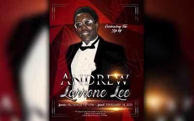 Andrew Larrone Lee 1936-2021