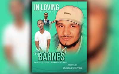 Harnes M. Barnes 1981-2021