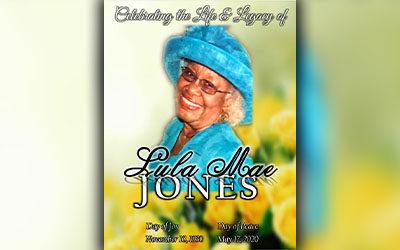 Lula Mae Jones 1930-2020