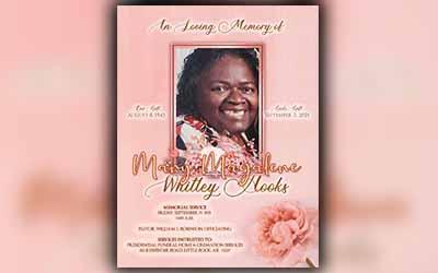 Mary Magalene Whittey Hooks 1943-2021