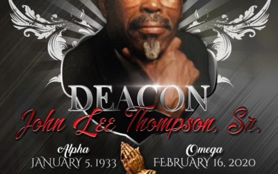 John Lee Thompson, Sr. 1933-2020