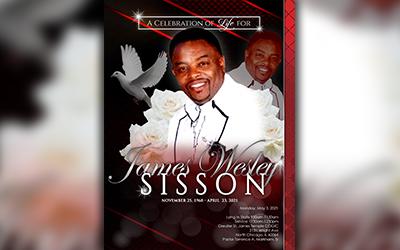 James Wesley Sisson 1968 – 2021