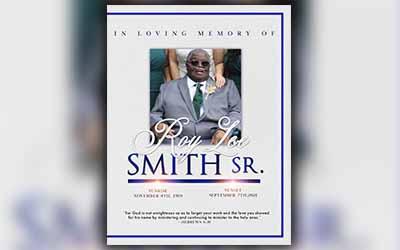 ROY LEE SMITH SR. 1959 – 2021