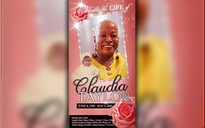 Claudia Taylor 1958 – 2021