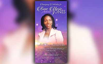 Rose Marie Jones 1948 – 2020