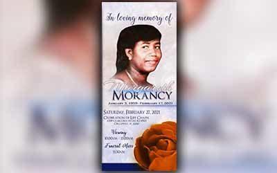 Margareth Morancy 1959 – 2021