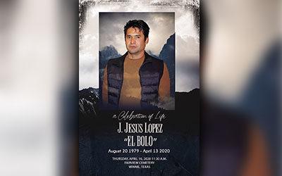 "J. Jesus Lopez ""El Bolo"" 1979-2020"