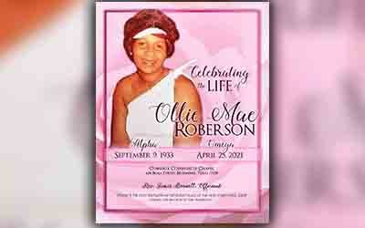 Ollie Mae Roberson 1933-2021