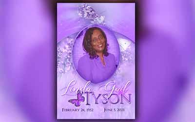 Linda Gail Tyson 1952 – 2021