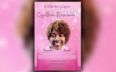 Cynthia Romona Williams 1957 – 2021