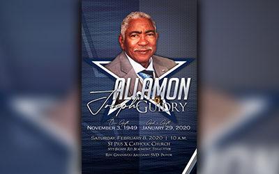 Allamon Joseph Guidry 1949-2020