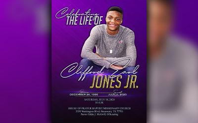 Clifford Earl Jones Jr.1995-2020