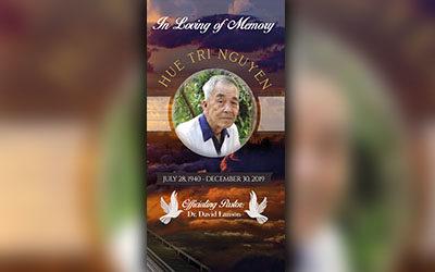 Hue Tri Nguyen 1940-2019
