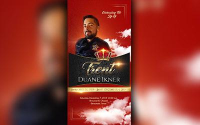 Trent Duane Ikner 1989-2019