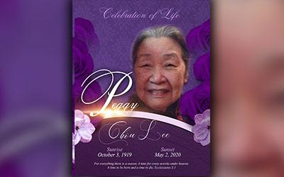 Peggy Chou Lee 1919-2020