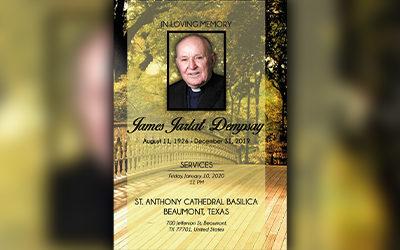 James Jarlat Dempsay 1926-2019