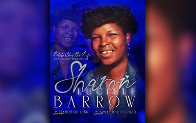 Sharon Lucille Barrow 1956-2020