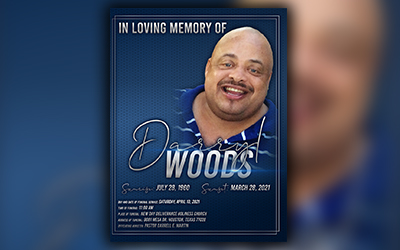 Darryl Woods 1960-2021