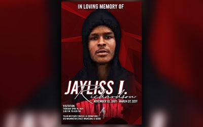 Jayliss I. Richardson 2001-2021