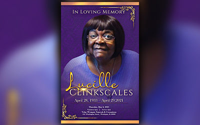 Lucille Clinkscales 1933-2021
