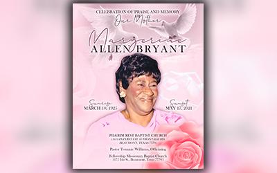 Margerine Allen Bryant 1925-2021